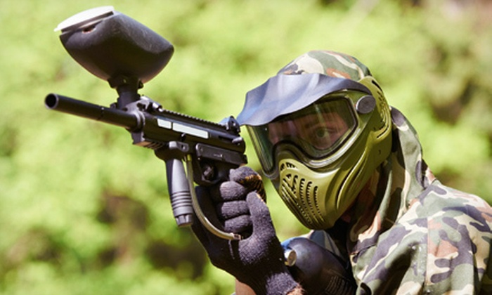 Action Town Florida - Hialeah: $24 for Three Hours of Paintball with 500 Paintballs and Equipment at Action Town Florida ($48 Value)