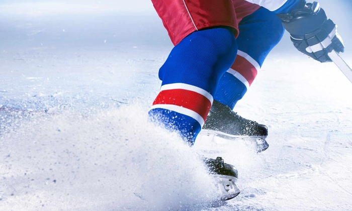 Polar Ice House - Multiple Locations: $26 for Kids' Four-Week Ice Hockey Course with Rental Gear at Polar Ice House ($49 Value)