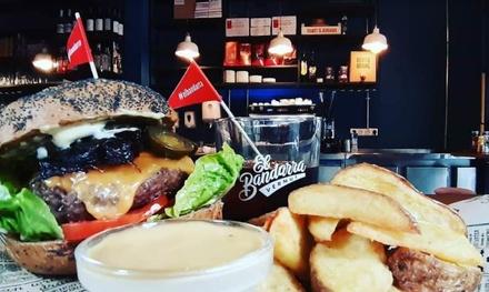 Menú burguer para 2 o 4 personas con entrante, principal y bebida en Bueníssimo Burger (hasta 63% de descuento)