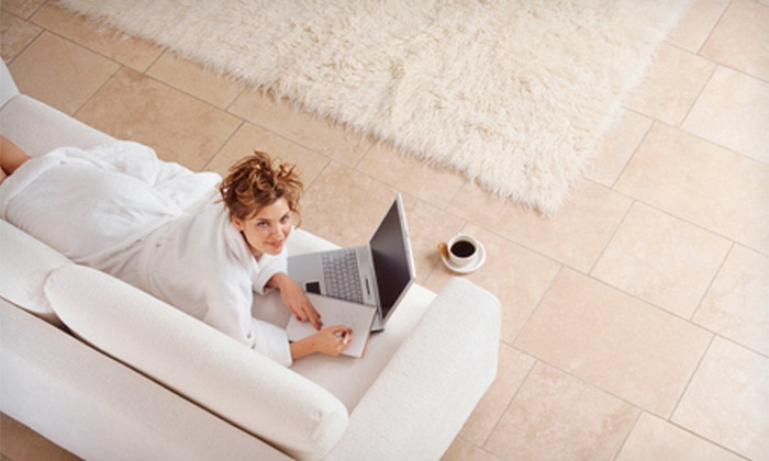 Beluga Cleaning - Downtown: Floor Cleaning for Two Rooms, Upholstery Cleaning for One Sofa, or Both from Beluga Cleaning (Up to 80% Off)