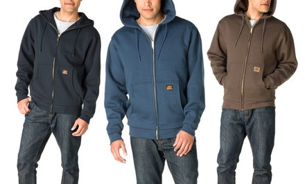 Skechers Zippered Front-Lined Fleece Hoodie. Multiple Colors Available.