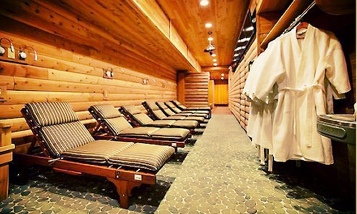 Red Square - Wicker Park: One Tanning Session or All-Day Russian Banya Visit with Slippers, Robe, and Locker at Red Square (Up to 79% Off)