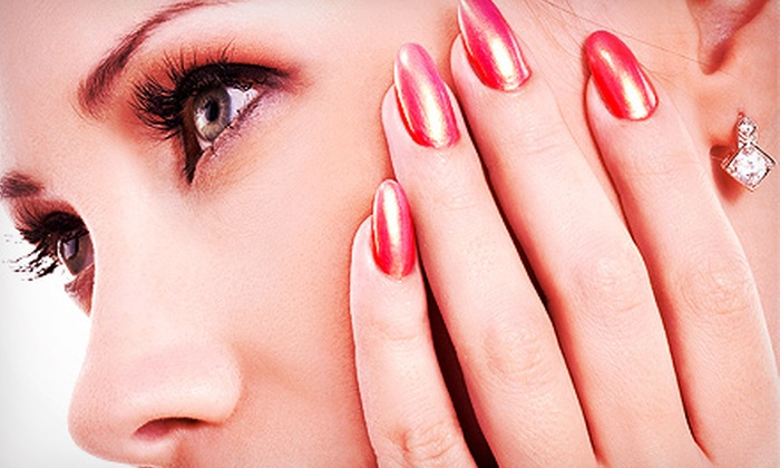Pauline's NailSpa - Marina District: Manicure or Pedicure with Paraffin Dip or Both at Pauline's NailSpa (Up to 62% Off)