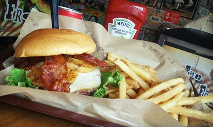 The Burger Freak - North Fort Lauderdale: $11 for a Burger Meal for Two at The Burger Freak (Up to $23.54 Value)