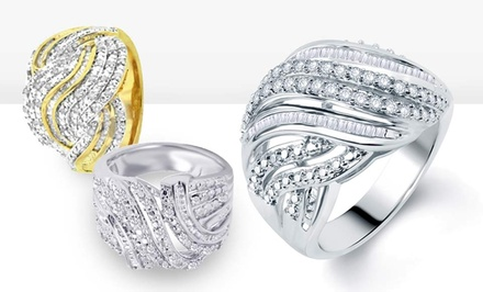 0.5 CTTW Diamond Fashion Rings in Size 7. Multiple Styles Available. Free Returns