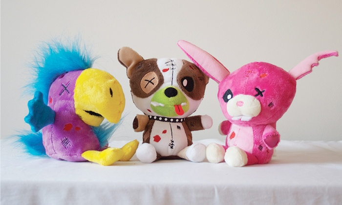 Zombie Pets Plush-Toy 3-Pack: Zombie Pets Plush-Toy 3-Pack. Free Returns.