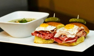 180° @ the DRB: Gastropub Cuisine with Drinks for Two or Four or More at 180° @ the DRB (Up to 40% Off)