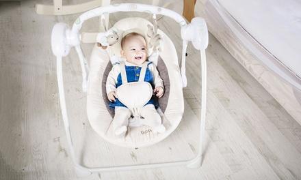 Balancelle pour bébé musicale Lionelo avec accessoires