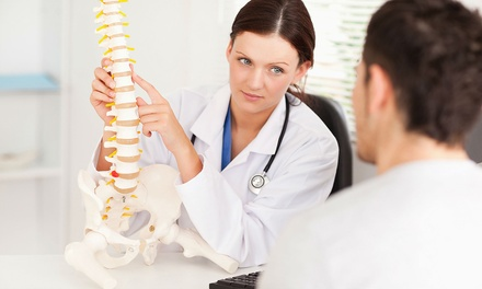 Chiropractic Consultation, Examination and Three Treatments at Six Locations with Glasgow Chiropractic Clinics (64% Off)
