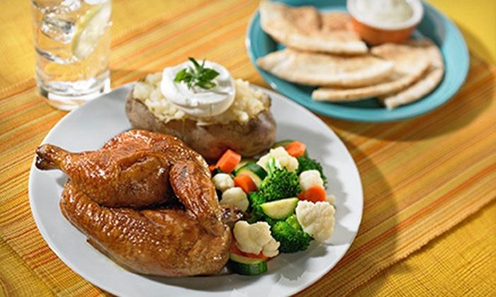 Chicken Dijon Rotisserie & Grill - Multiple Locations: $12 for $25 Worth of Mediterranean Cuisine at Chicken Dijon Rotisserie & Grill