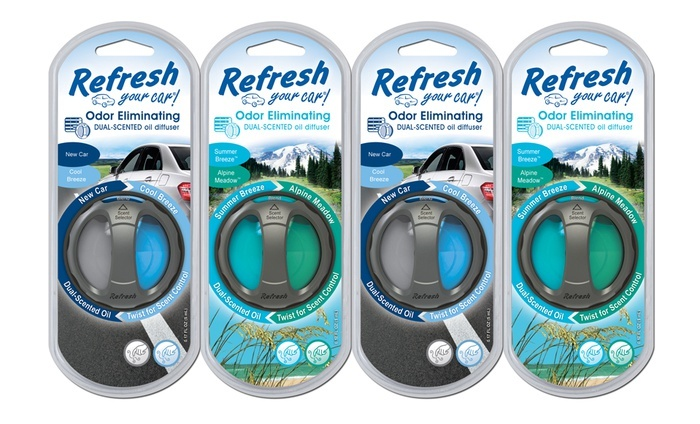 4-Pack of Dual-Scented Oil Diffusers: 4-Pack of Dual-Scented Oil Diffusers. Free Returns.