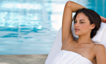 $75 for a Spa Day with Facial, Foot Soak, Infrared Body Wrap, and Sugar Scrub at Salud! ($300 Value)