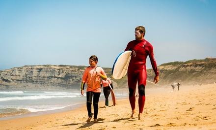 Ericeira: 7 noches para 1 persona con clases de surf y desayuno en Magikvanilla Surf Camp