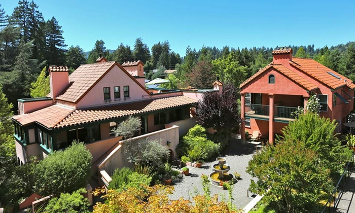 Applewood Inn - Guerneville, CA: 1- or 2-Night Stay with Welcome Glasses of Wine and Wine Passport for Two at Applewood Inn in Sonoma County, CA