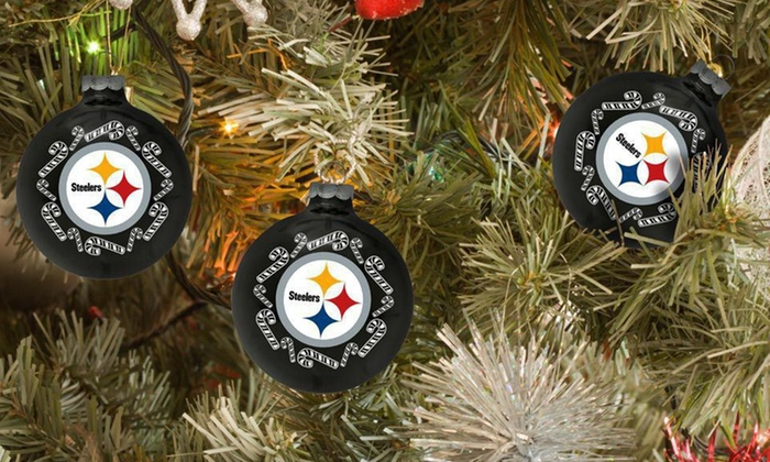 Topperscot NFL Team Ornaments: $19.99 for Six Topperscot NFL Team Ornaments ($47.52 List Price). 31 Teams Available. Free Shipping.