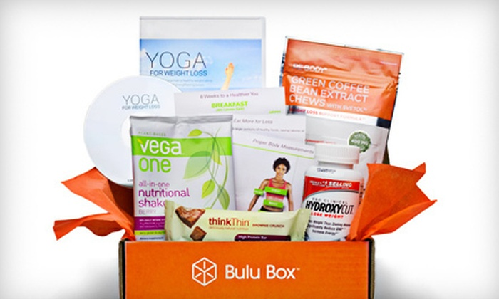 Bulu Box: Three or Six Months of Vitamins, Supplements, and Weight-Loss Products from Bulu Box (Half Off)