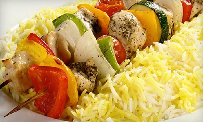 Istanbul Mediterranean - River Mountain: $10 for $20 Worth of Turkish and Mediterranean Food at Istanbul Mediterranean Restaurant