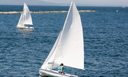 90-Minute Sailing Tour for Two or Four from Whisper Sailing (Up to 56% Off)