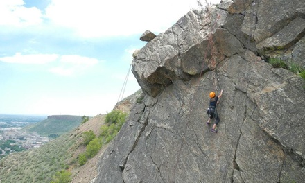 Half-Day Basic or Full-Day Intermediate Rock-Climbing Trip for One or Two from Apex Ex (Up to 72% Off)