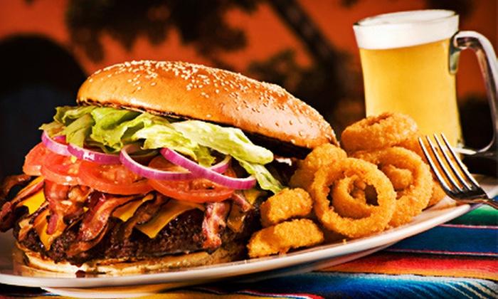 Brewburgers - Broadwater: Pub Food for 2, 4, or 10 at Brewburgers (Up to Half Off)