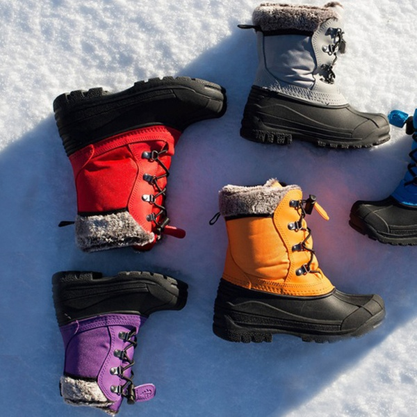 Winter Snow Boots (Sizes 6