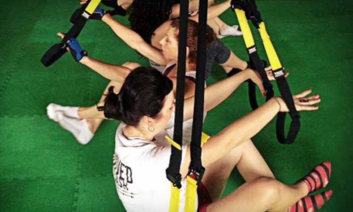 Impressive Fitness The Jungle - Fort Worth: 5 or 10 TRX Pilates or TRX Training Camp Classes or Slim Down Program at Impressive Fitness The Jungle (Up to 77% Off)