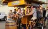 50% Off Pedal Hopper Party-Bike Pub Crawl