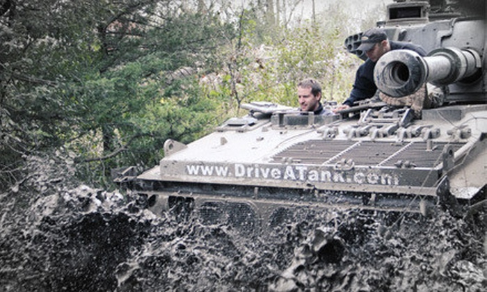 Drive A Tank - Kasota: Driving Experience for One, Two, or Four at Drive A Tank (Up to 44% Off)