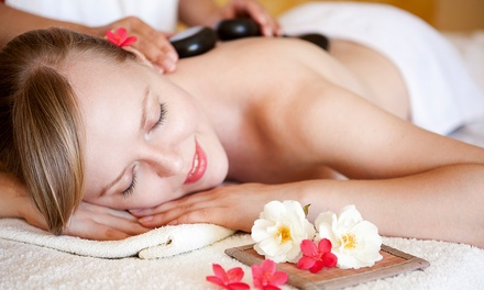 $39 for Hot-Stone Massage and Two Chiropractic Adjustments at Healing Balance Massage ($210 Value)
