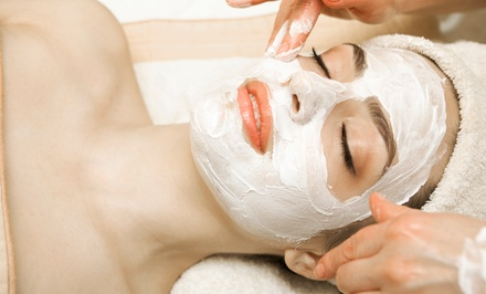Signature Massage and Apricot Facial Polish for One or Two at Massage 49 (Up to 55% Off)