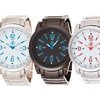 Fortune NYC Men's Brushed Alloy Watch