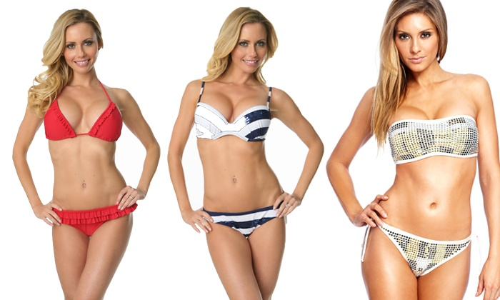 Swim n Sexy: Bikinis and Lingerie from Swim n Sexy (Up to 60% Off). Two Options Available.