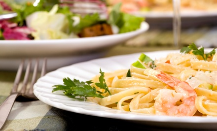 Casual Italian Lunch or Dinner at Pasta Jay's (Up to 47% Off)