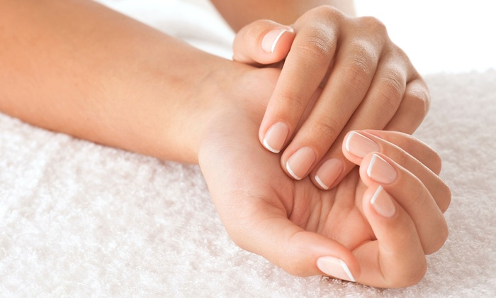 A Handful Salon - Scarborough: $30 for a Detox Manicure with Sea Salt and Hand Treatment at A Handful Salon ($60 Value)