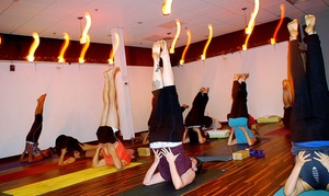 Barefoot Studio: 5 or 10 Yoga Classes at Barefoot Studio (Up to 46% Off)