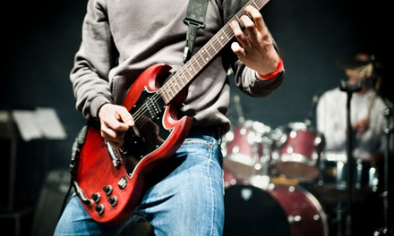 $149 for One-Month Rock 101 Performance Program with Private & Group Lessons at School of Rock ($300 Value)