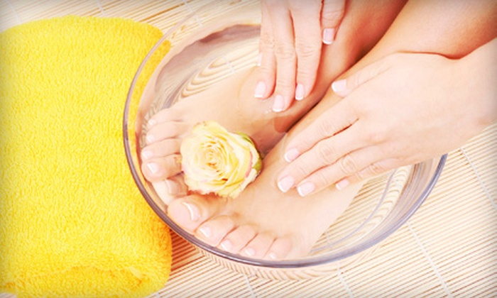 Phamily Nails Salon - Sorensen: Express Mani-Pedi or a Gel Manicure and Express Pedicure at Phamily Nails Salon (Up to 54% Off)