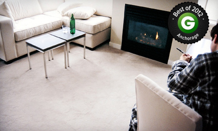 Commercially Clean - Anchorage: Carpet Cleaning for Three Rooms with Option for Couch Cleaning from Commercially Clean (Up to 57% Off)