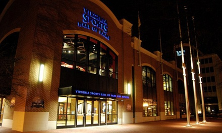 One-Year Family Membership or Admission for Two at Virginia Sports Hall of Fame & Museum (Up to 51% Off)