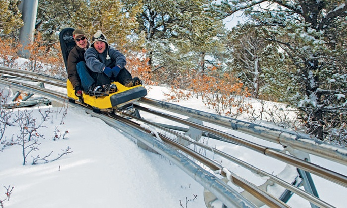 Glenwood Caverns Adventure Park - Glenwood Springs : Winter Adventure-Park Visit for Two or Four at Glenwood Caverns Adventure Park (50% Off)
