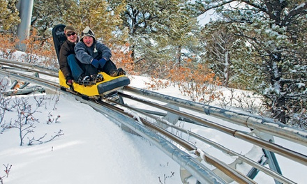 Winter Adventure-Park Visit for Two or Four at Glenwood Caverns Adventure Park (50% Off)