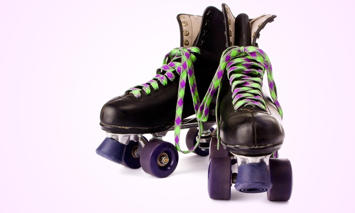 Fun Factory Roller Skating - Norwood: Roller Skating for Two or Four with Pizza, Drink, and Arcade Tokens at Fun Factory Roller Skating (Up to 57% Off)