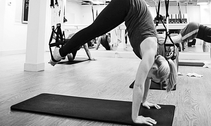 Barre Pose - Fairlawn: Two or Four TRX Suspension-Training Classes or Three Antigravity Barre Classes at Barre Pose (Up to 57% Off)