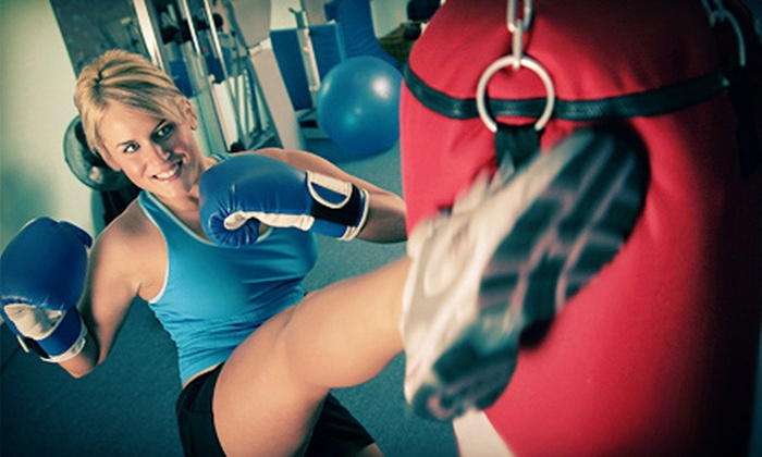 Next Level Fitness & Crossfit - Bakersfield: One Month of Cardio Kickboxing and Boot-Camp Classes for One or Two at Next Level Fitness & Crossfit (Up to 67% Off)