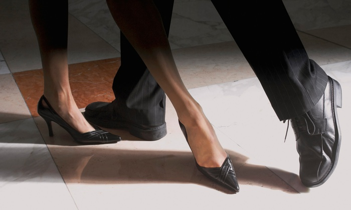 Fred Astaire Dance Studios - Multiple Locations: $22 for One Private Lesson, Group Lesson, and Practice for Up to Two (Up to $145 Value)