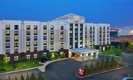 Stay at SpringHill Suites Newark Liberty International Airport, NJ. Dates into October.
