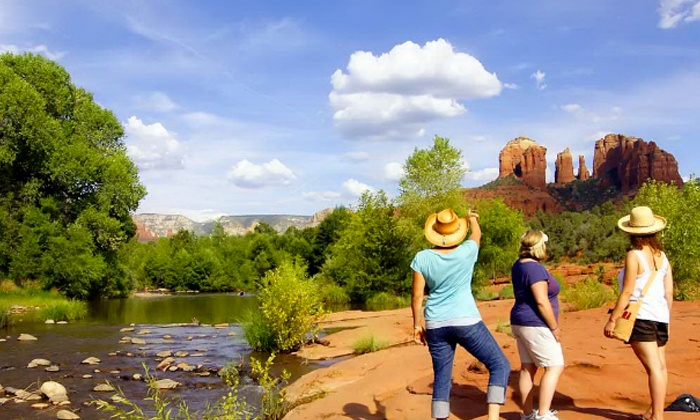 Earth Wisdom Jeep Tours - Sedona: Scenic Vortex Jeep Tour in Sedona for Two, Four, or Six from Earth Wisdom Jeep Tours (Up to 51% Off)