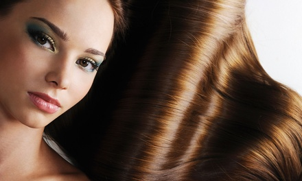 Hair Services at Blowout Salon (Up to 56% Off). Four Options Available.