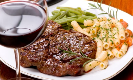 $42 for Argentinean Dinner for Two with Unlimited House Wine or Sangria at Argentango (Up to $85 Value)