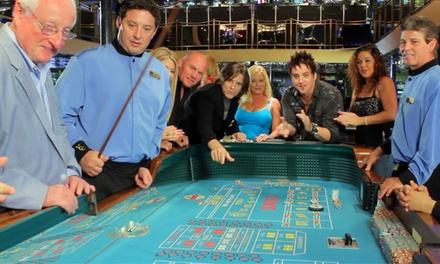 Casino-Cruise Package for One or Two with Food, Drinks, and Slot Play from Victory Casino Cruises (Up to 50% Off)